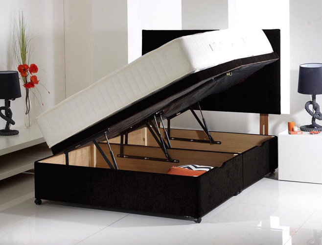 Oslo Ottoman Side Lifting The Luxury Bed Company