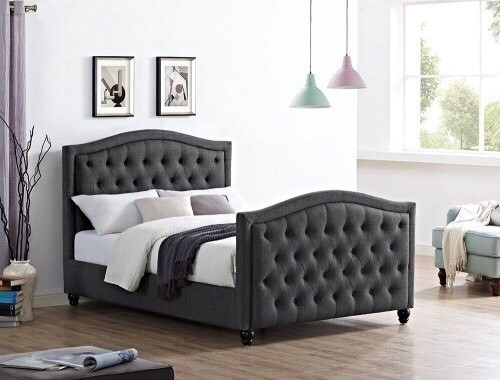 the windsor bed the luxury bed company. Black Bedroom Furniture Sets. Home Design Ideas