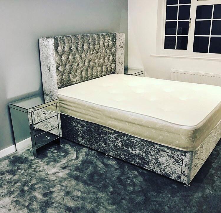 napoli divan the luxury bed company. Black Bedroom Furniture Sets. Home Design Ideas
