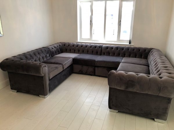 Chesterfield U Shape Sofa